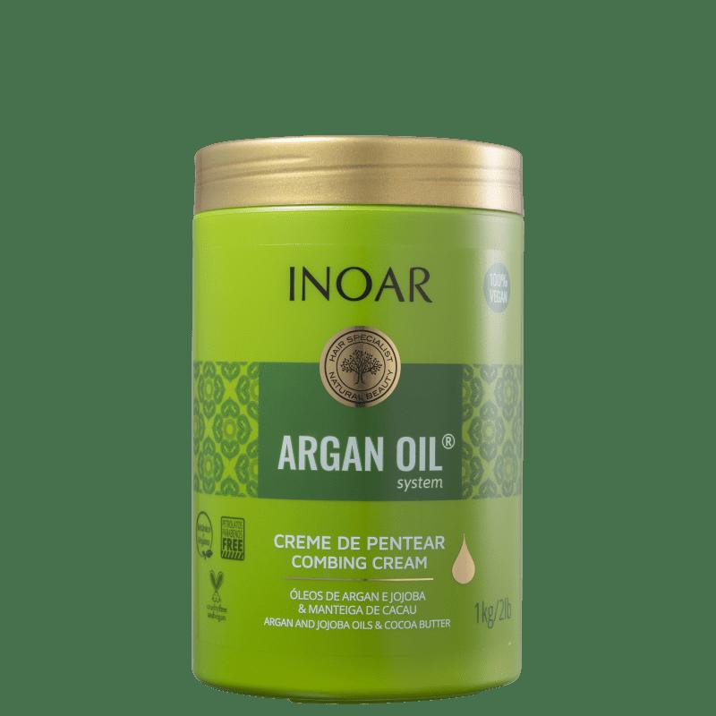 Inoar Argan Oil System - Creme para Pentear 1 Litro