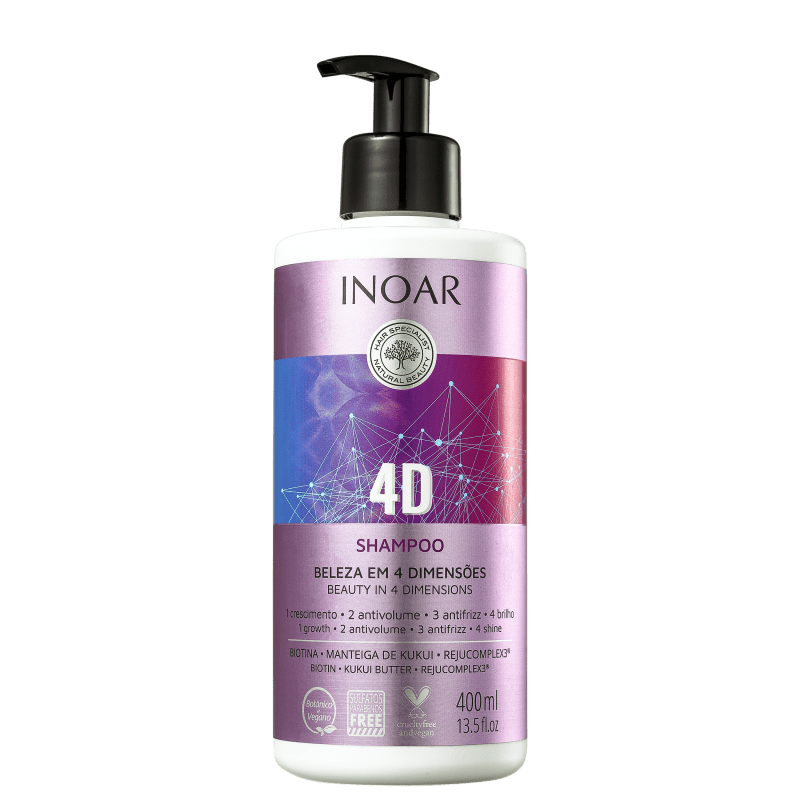 Inoar 4D - Shampoo 400ml