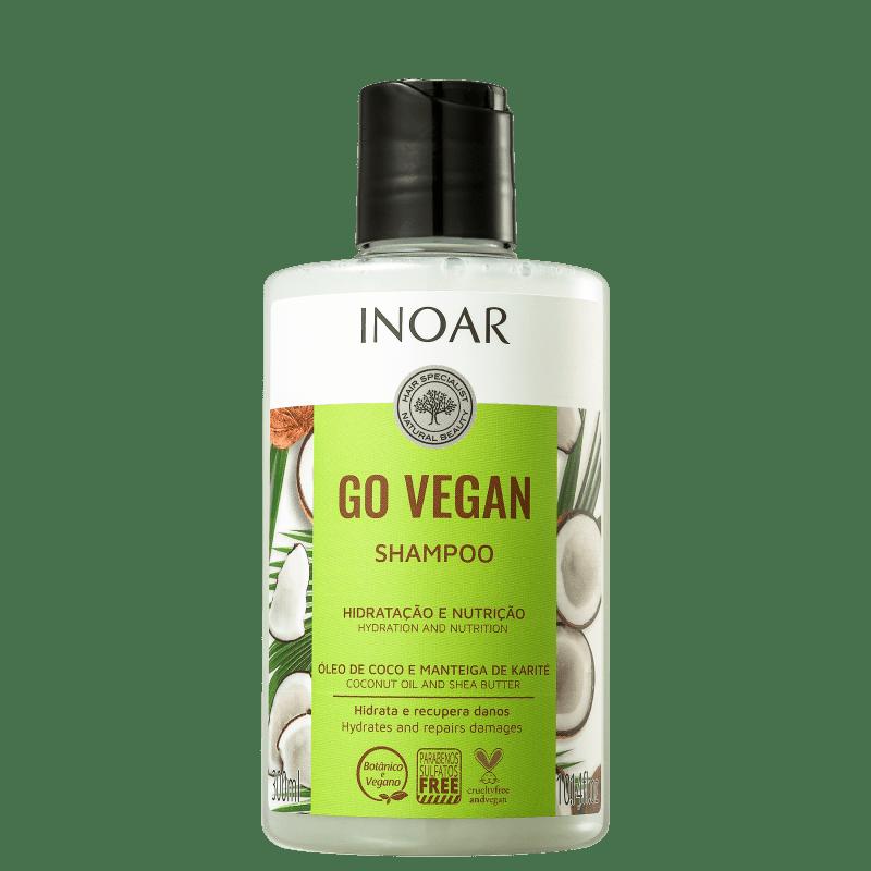Inoar Go Vegan Hidratação e Nutrição - Shampoo 300ml