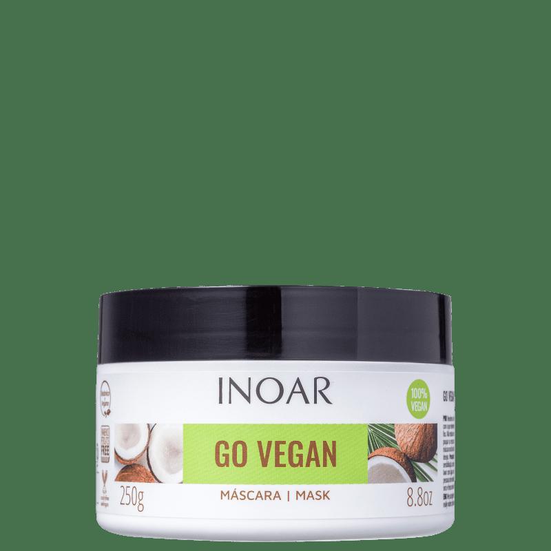 Inoar Go Vegan Hidratação e Nutrição - Máscara Capilar 250g