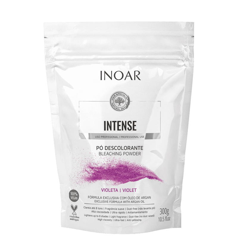 Inoar Intense Violeta - Pó Descolorante 300g