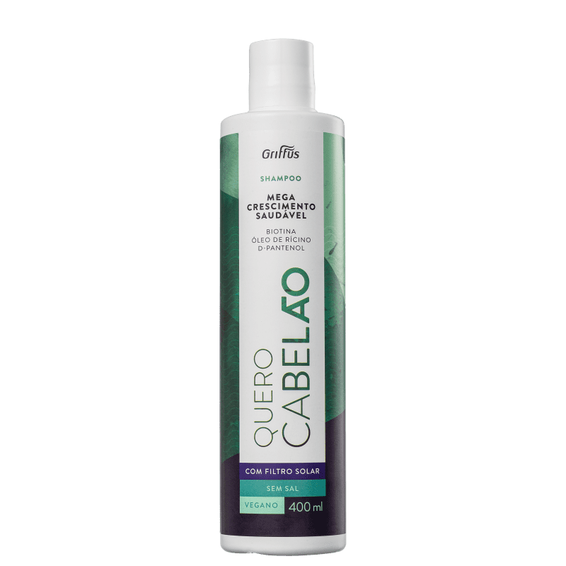 Griffus Quero Cabelão - Shampoo 400ml