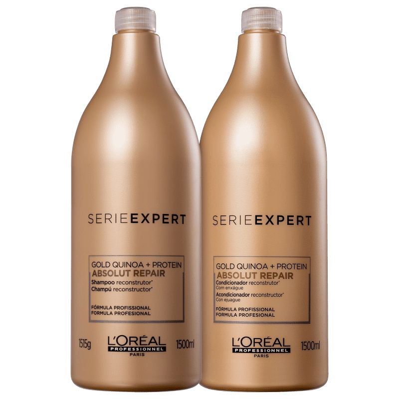 Kit L'Oréal Professionnel Serie Expert Absolut Repair Gold Quinoa + Protein Salon Duo (2 Produtos)