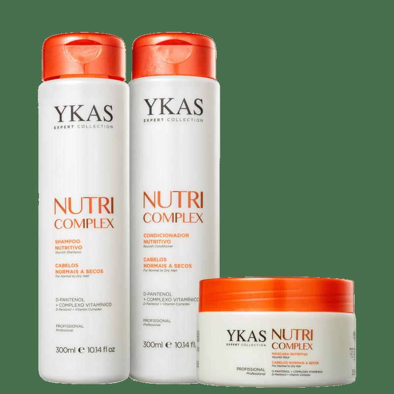 Kit YKAS Nutri Complex Trio (3 Produtos)