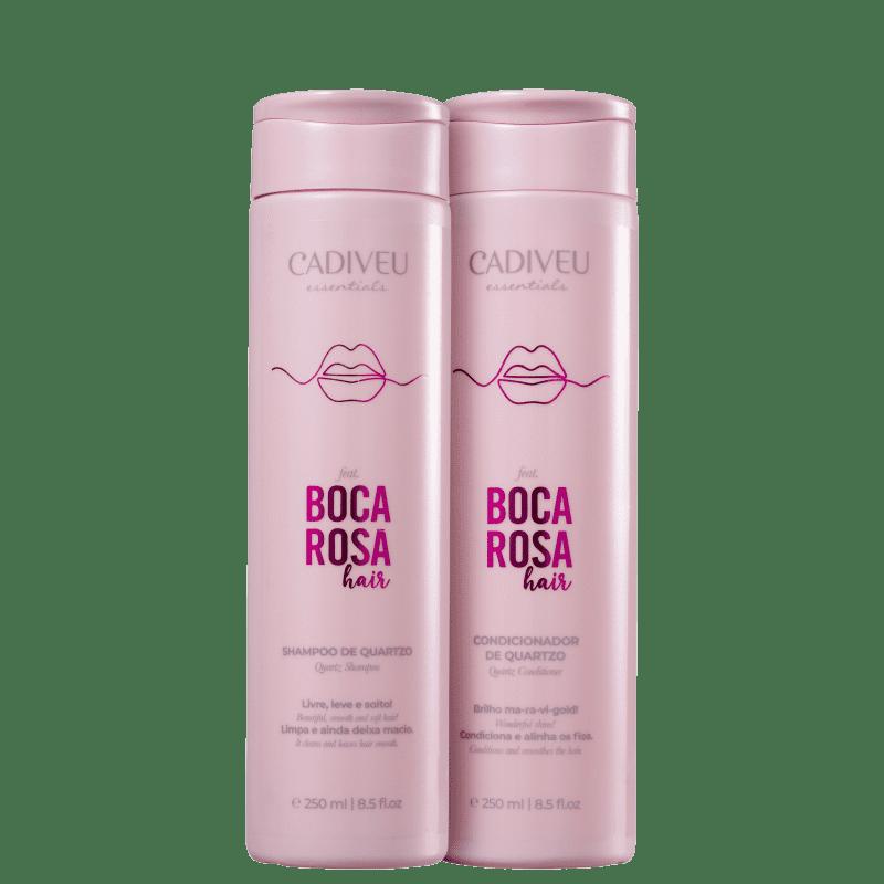 Kit Cadiveu Professional Boca Rosa Hair Quartzo Duo (2 Produtos)