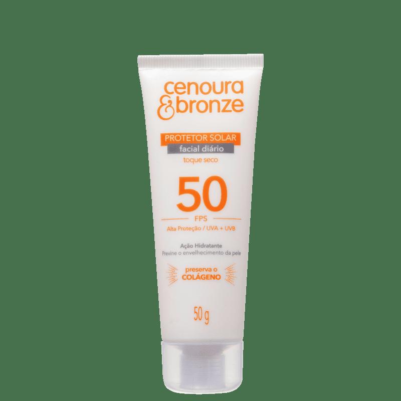 Cenoura & Bronze Diário FPS 50 - Protetor Solar Facial 50g