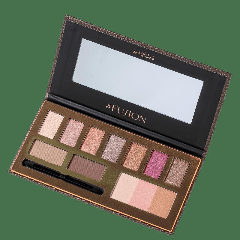 Joli Joli Pro Makeup Collection #Fusion - Paleta de Maquiagem