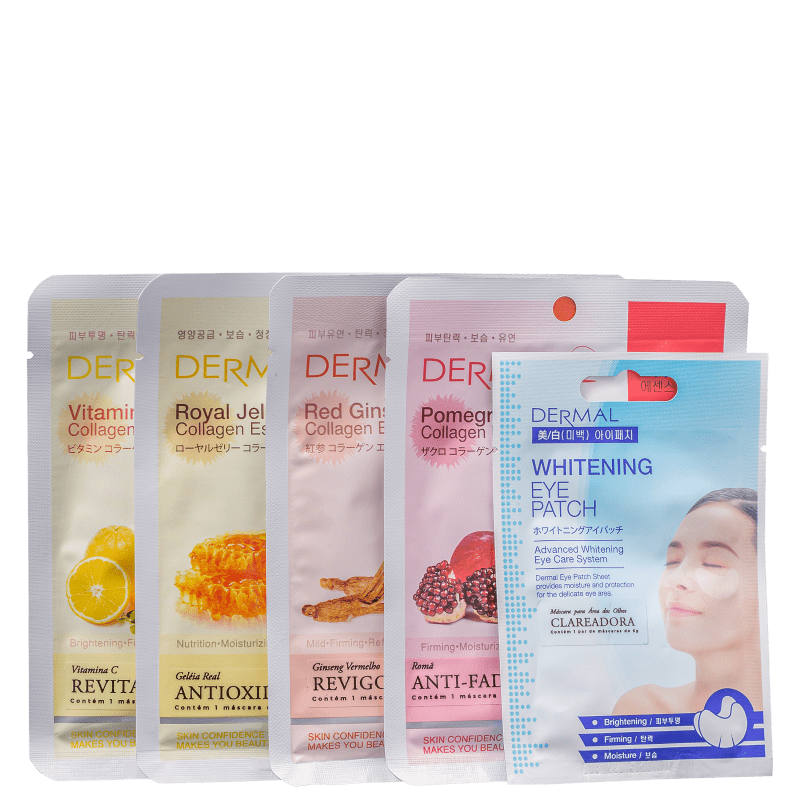 Kit Dermal K-Beauty Hangover (5 Unidades)