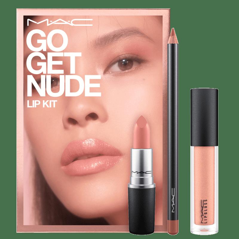 Kit M.A.C Go Get Nude (3 produtos)