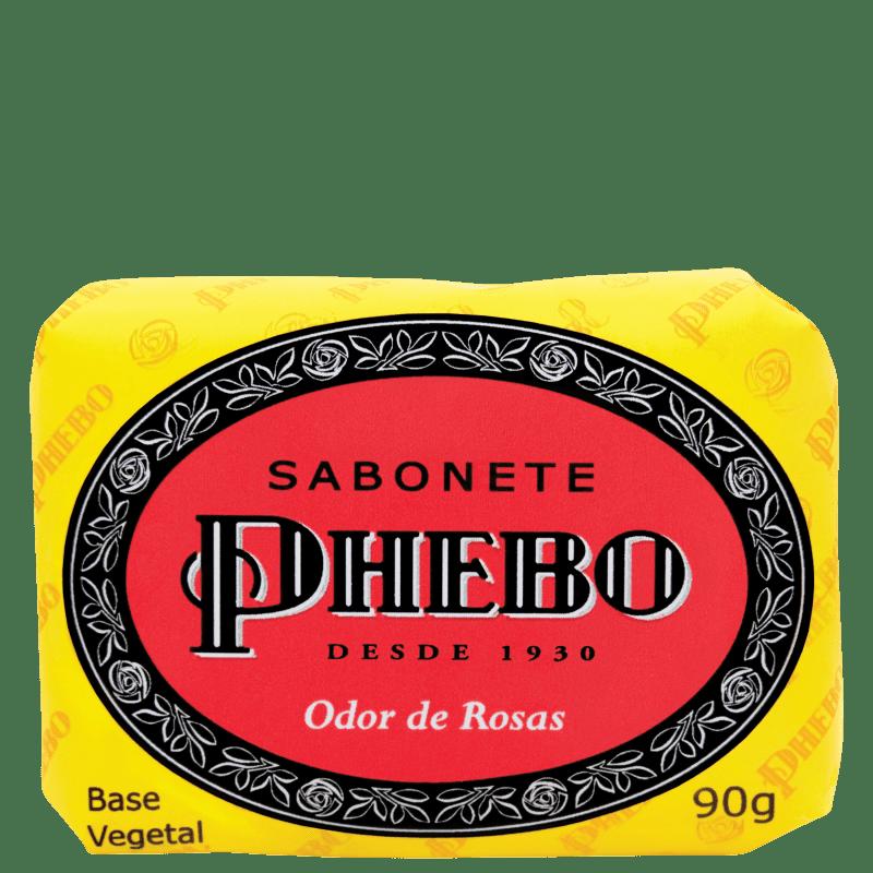Phebo Odor de Rosas - Sabonete em Barra 90g