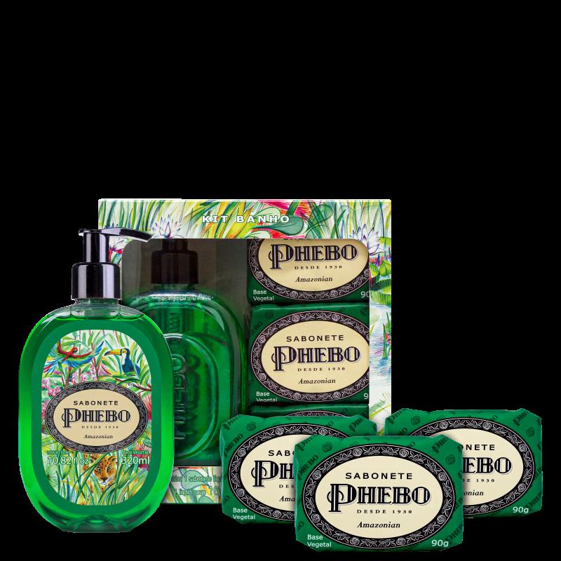 Kit Phebo Amazonian (4 Produtos)