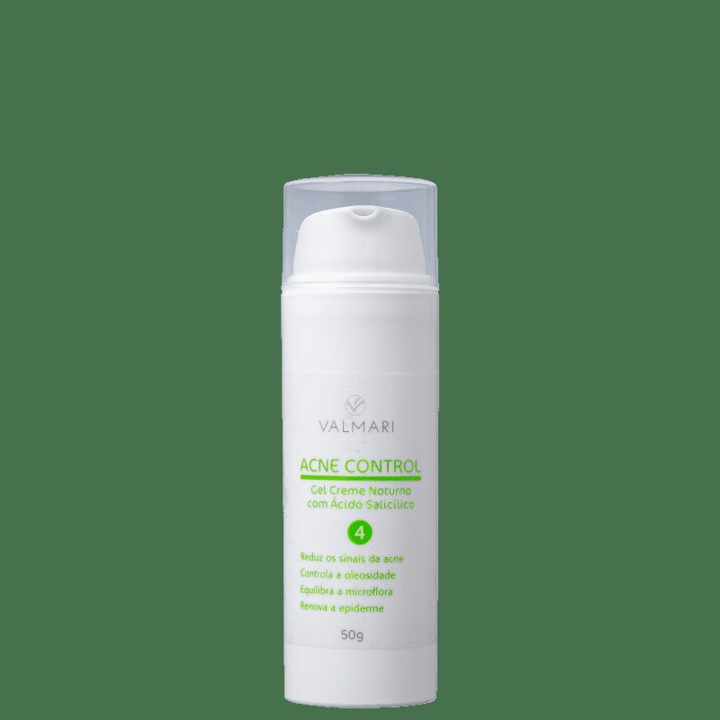 Valmari Acne Control Noturno com Ácido Salicílico - Gel para Acne 50g