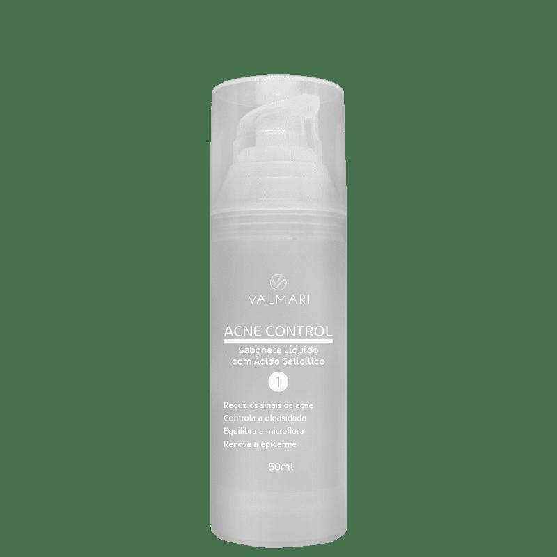 Valmari Acne Control com Ácido Salicílico - Sabonete Líquido para Acne 50ml