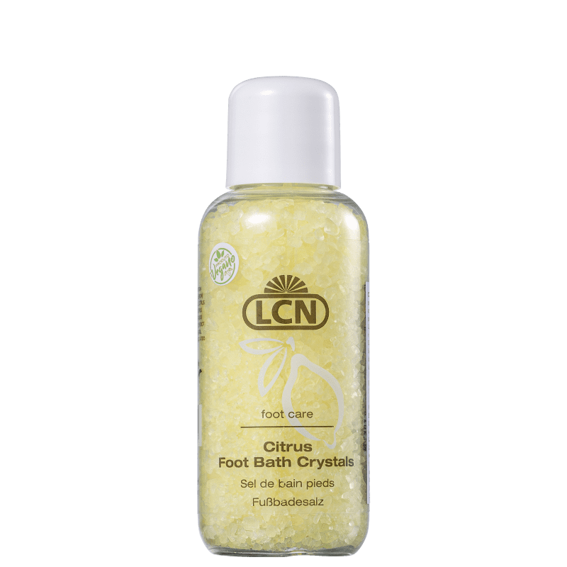 LCN Citrus Foot Bath Crystals - Sais Relaxantes para os Pés 100g