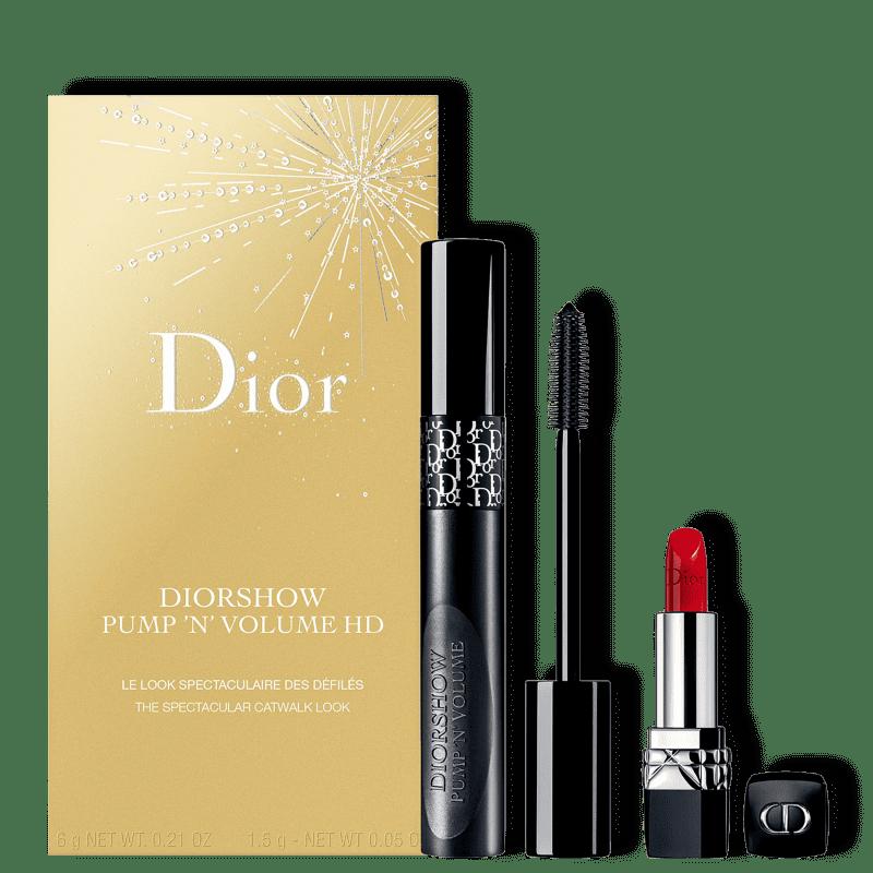 Kit Dior Diorshow Pump 'N' Volume HD (2 Produtos)