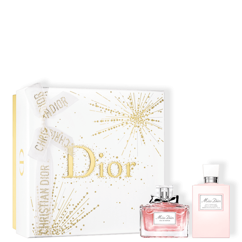 Conjunto Miss DIOR Feminino - Eau de Parfum 50ml + Loção Corporal 75ml
