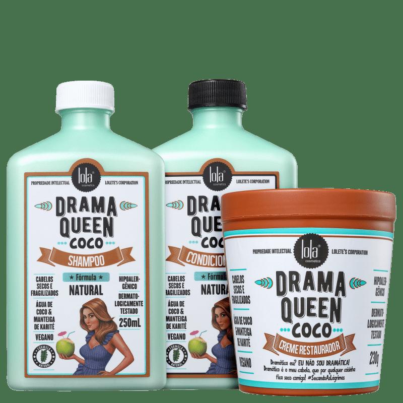 Kit Lola Cosmetics Drama Queen Coco Trio (3 Produtos)