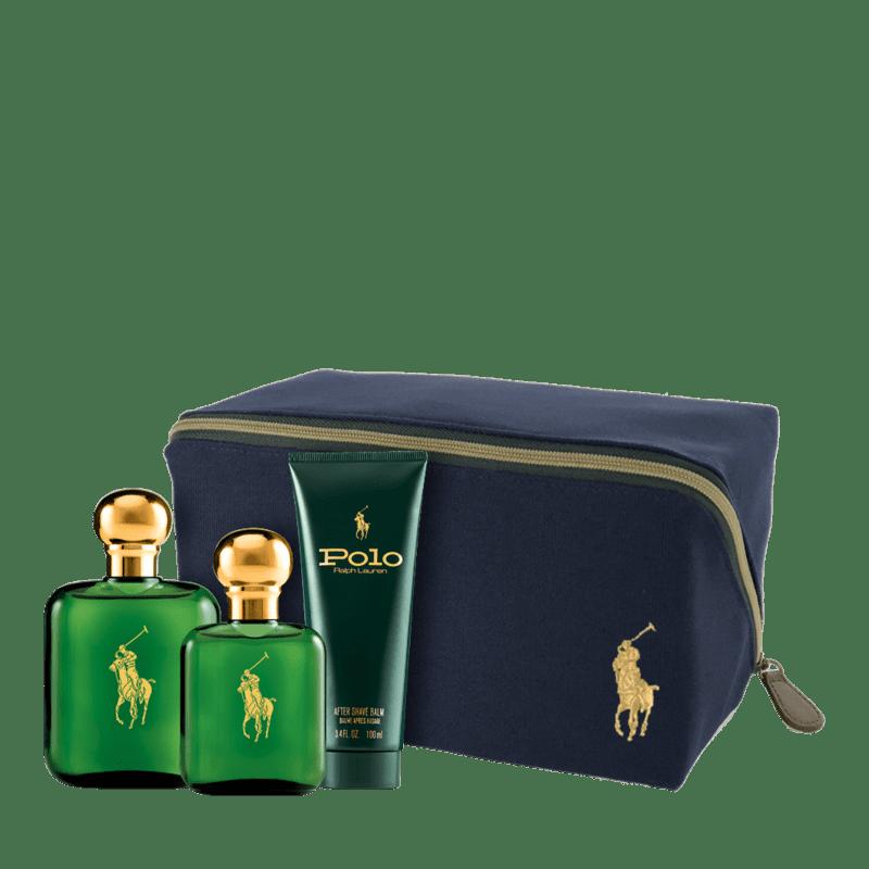 Conjunto Polo Green Ralph Lauren Masculino - Eau de Toilette 118ml + Eau de Toilette 59ml + Pós-Barba 100ml