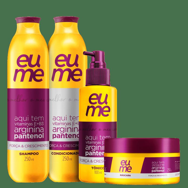 Kit Eume Força & Crescimento (4 Produtos)