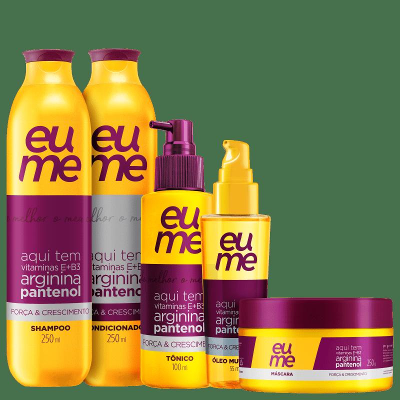 Kit Eume Força & Crescimento Completo (5 Produtos)