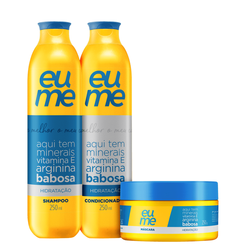Kit Eume Hidratação (3 Produtos)