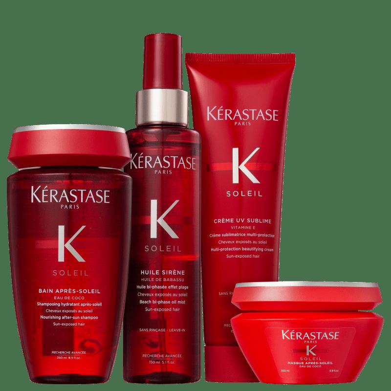 Kit Kérastase Soleil Completo (4 Produtos)