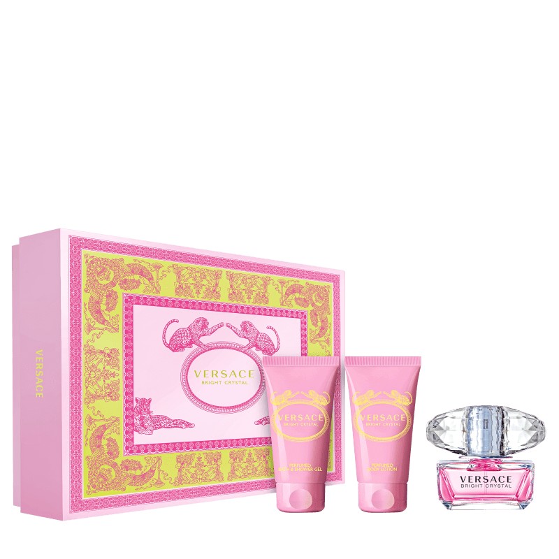 Conjunto Versace Bright Crystal Feminino 3X50ml