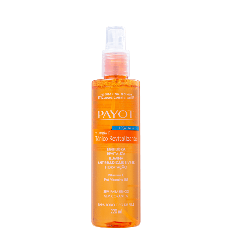Payot Vitamina C Revitalizante - Tônico Facial 220ml