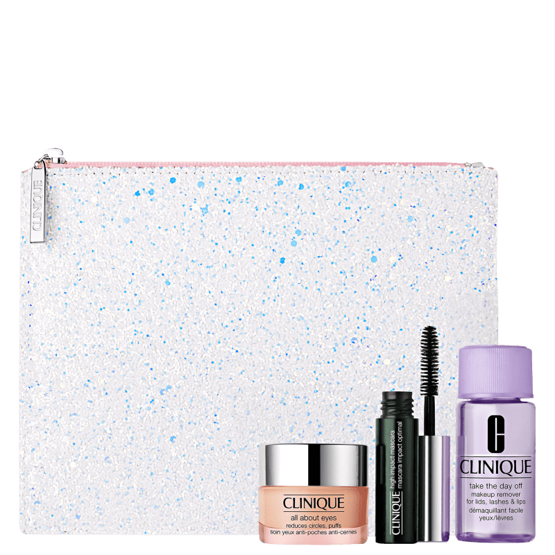 Kit Clinique Eye Favorites (3 Produtos + Nécessaire)