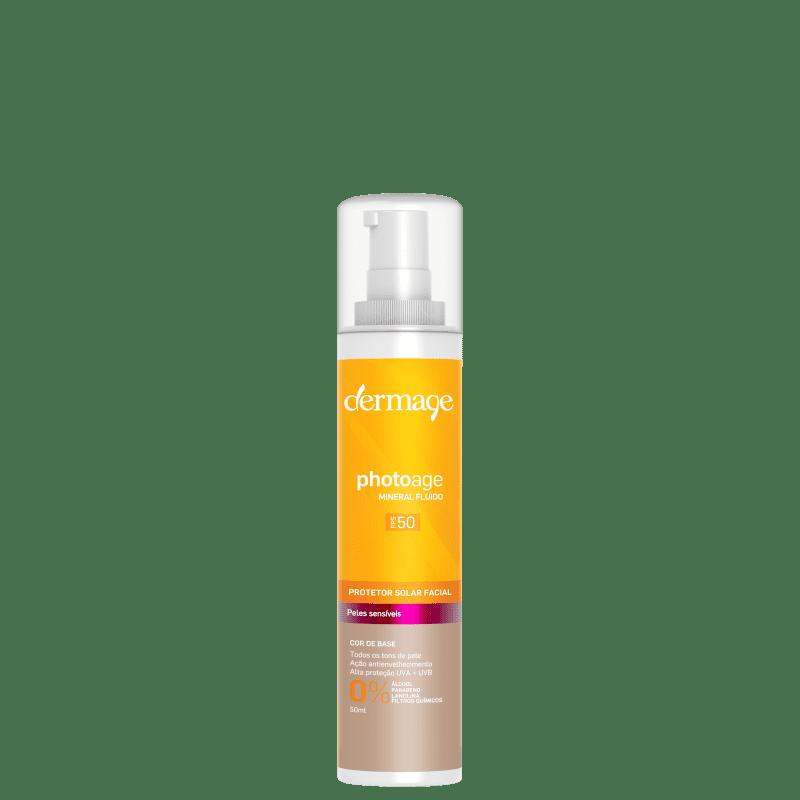 Dermage Photoage Mineral Color Fluid FPS50 - Protetor Solar Facial 50ml