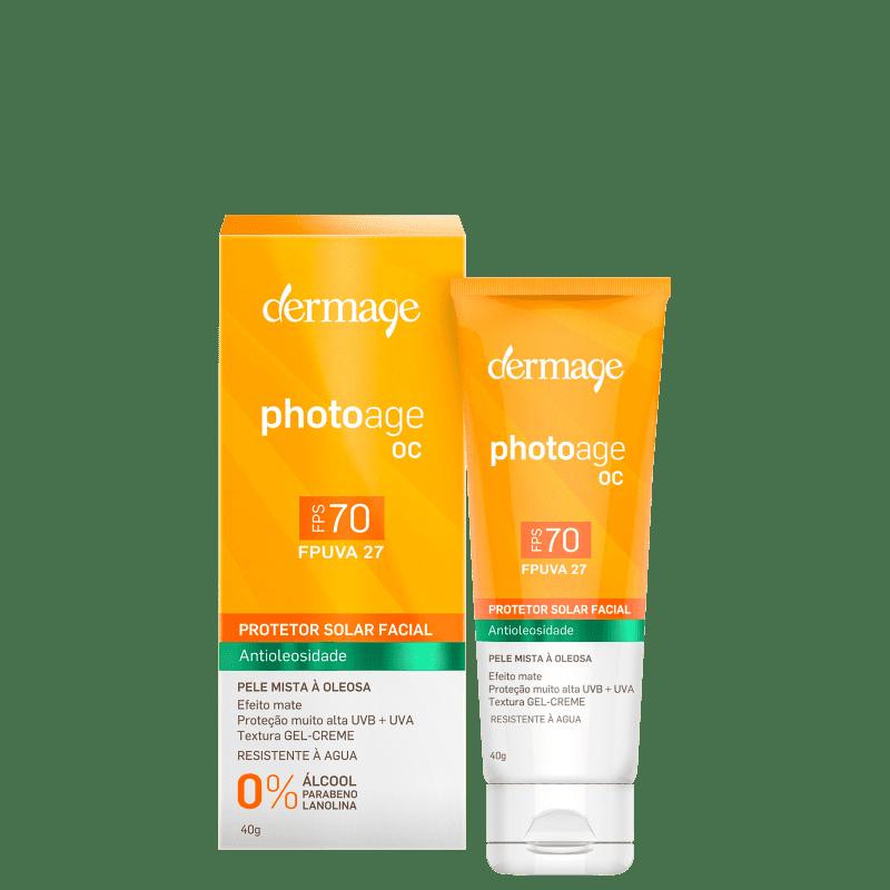 Dermage Photoage OC FPS 70 - Protetor Solar Facial 45g