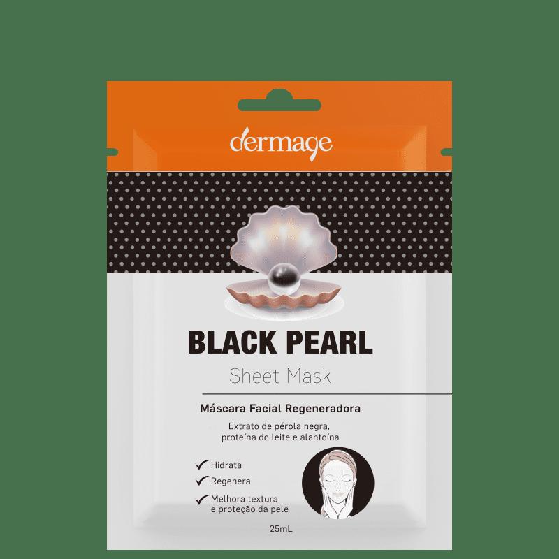 Dermage Black Pearl - Máscara Facial 25ml