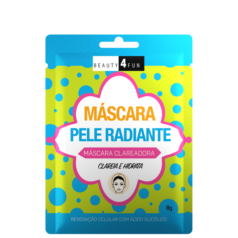 Beauty 4 Fun Pele Radiante - Máscara Facial 8g