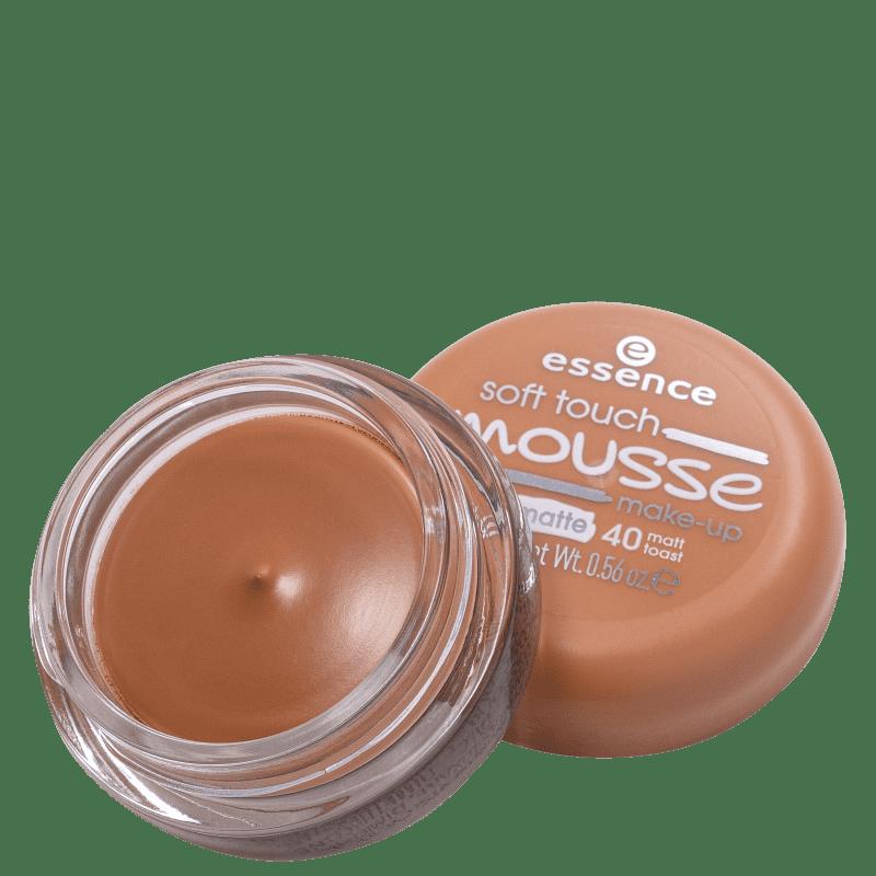 Essence Soft Touch Mousse 40 Matt Toast - Base Cremosa 16g