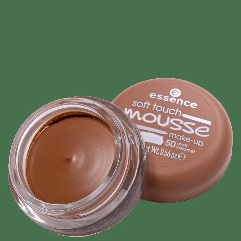 Essence Soft Touch Mousse 50 Matt Caramel - Base Cremosa 16g