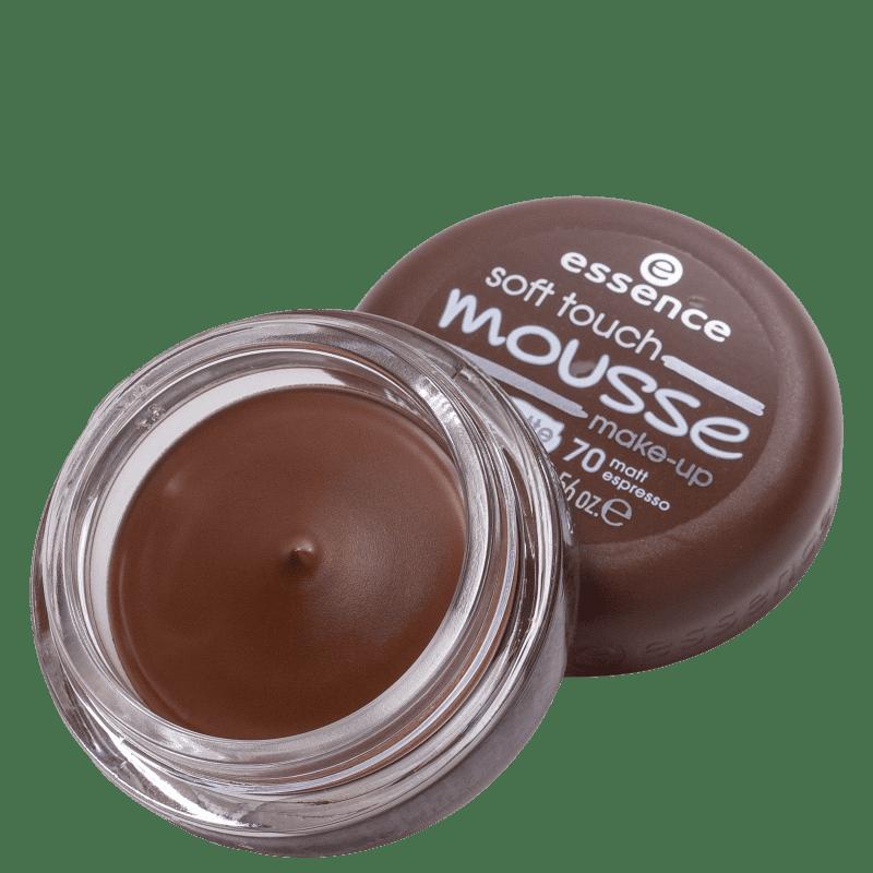 Essence Soft Touch Mousse 70 Matt Espresso - Base Cremosa 16g