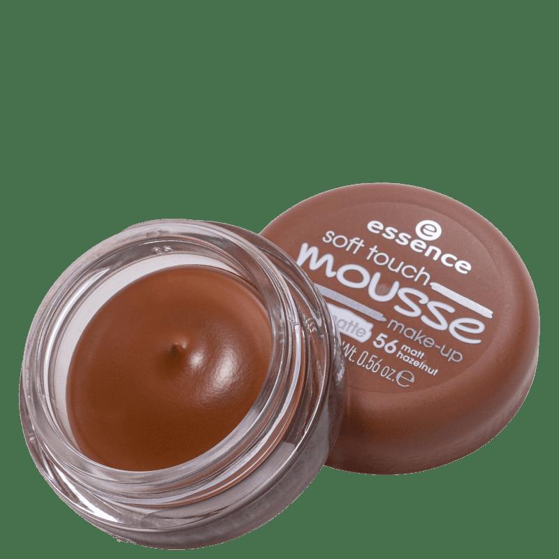 Essence Soft Touch Mousse 56 Matt Hazelnut - Base Cremosa 16g