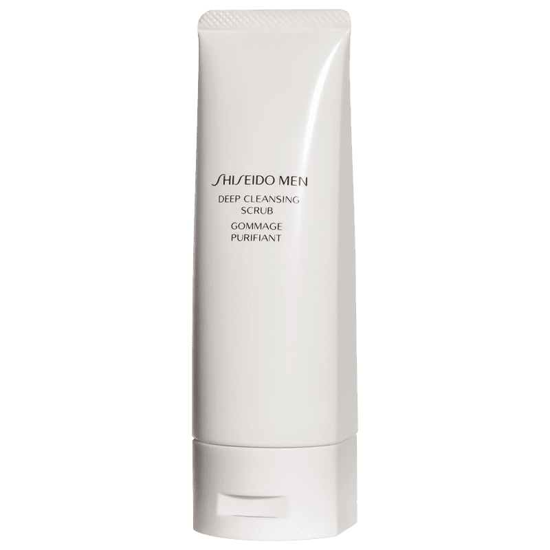 Shiseido Men Deep - Esfoliante Facial 125ml