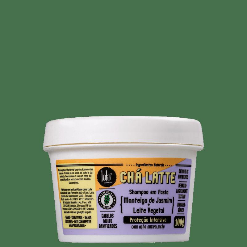 Lola Cosmetics Chá Latte Manteiga de Jasmim + Leite Vegetal - Shampoo 100g