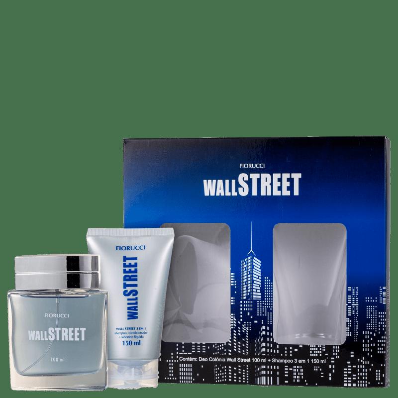Conjunto Fiorucci Wall Street - Perfume Masculino 100ml + Shampoo 150ml