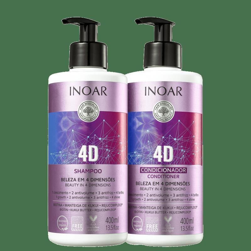 Kit Inoar 4D Duo (2 Produtos)