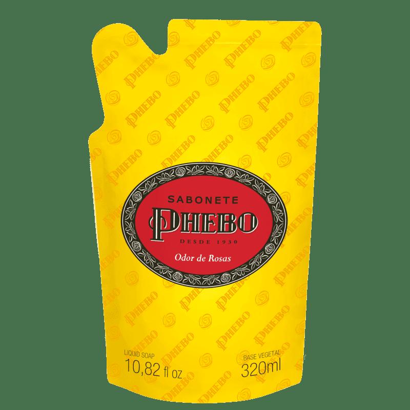 Phebo Odor de Rosas Refil - Sabonete Líquido 320ml