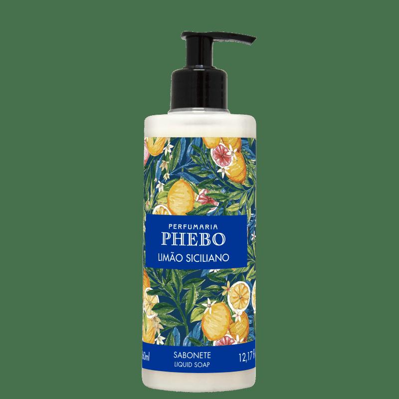 Phebo Mediterrâneo Limão - Sabonete Líquido 360ml