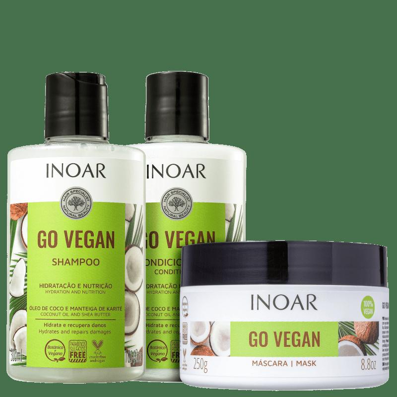 Kit Inoar Go Vegan (3 Produtos)