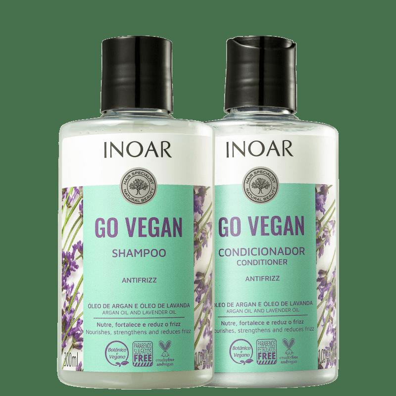 Kit Inoar Go Vegan Antifrizz (2 Produtos)