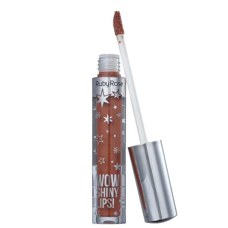 Ruby Rose Wow Shiny Lips 53 Nude - Gloss Labial 3ml