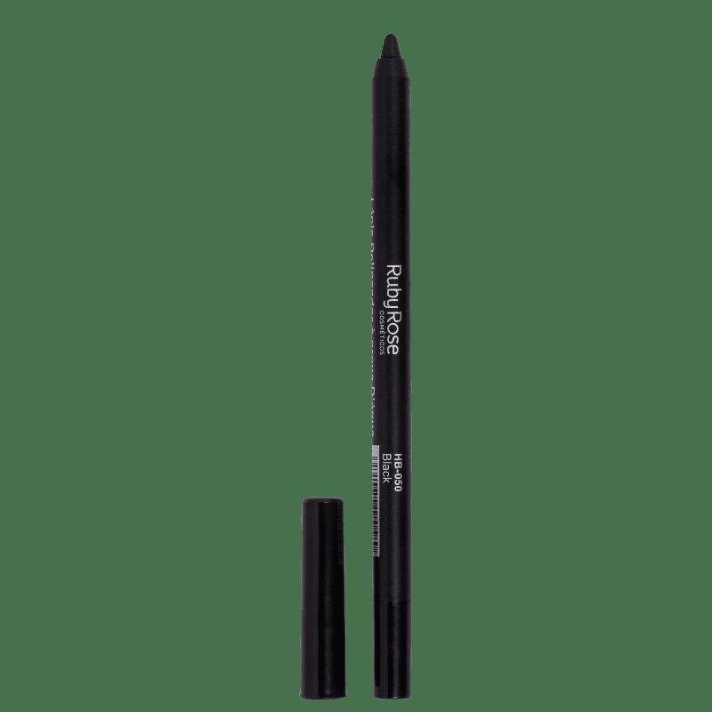Ruby Rose Carbon Black HB050  - Lápis Delineador