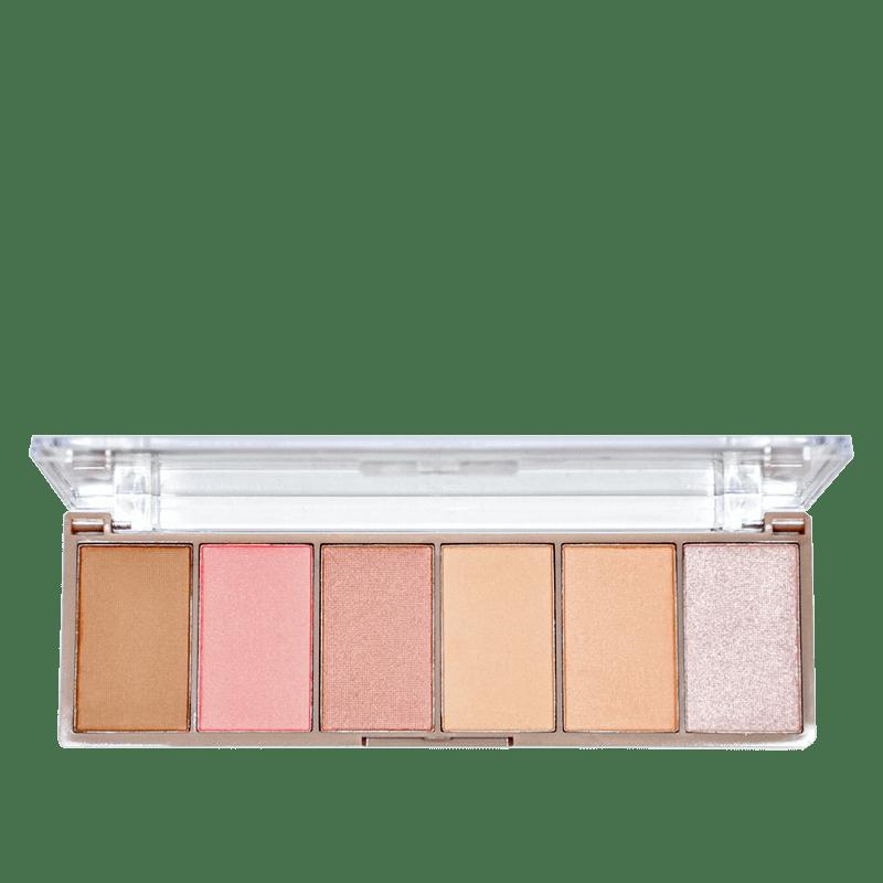 Ruby Rose Cheek Play Pocket - Paleta de Maquiagem 18g