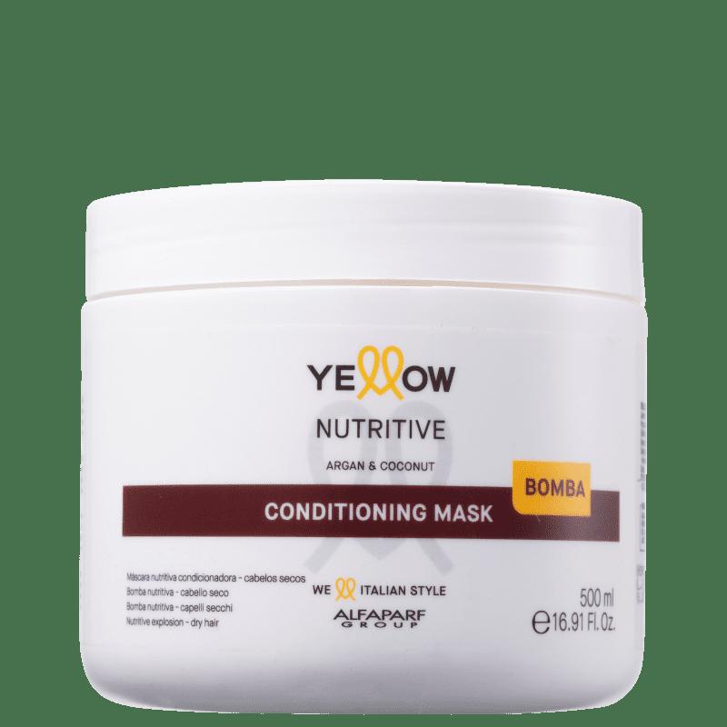 Yellow Nutritive - Máscara Capilar 500ml