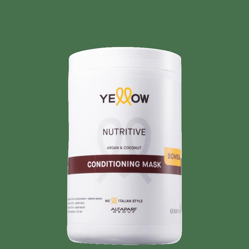 Yellow Nutritive - Máscara Capilar 1000ml